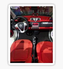 Smart ForTwo Turbo Cabrio Tritop Inside [ Print & iPad / iPod / iPhone Case ] Sticker
