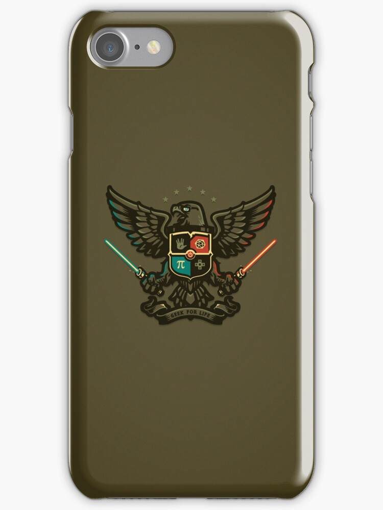 Geek For Life - IPHONE CASE by WinterArtwork