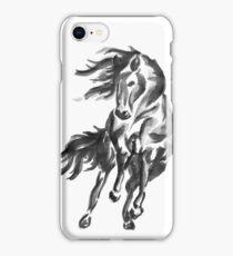 Sumi-e Horse iPhone Case/Skin
