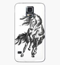 Sumi-e Horse Case/Skin for Samsung Galaxy