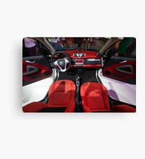 Smart ForTwo Turbo Cabrio Tritop Inside [ Print & iPad / iPod / iPhone Case ] Canvas Print