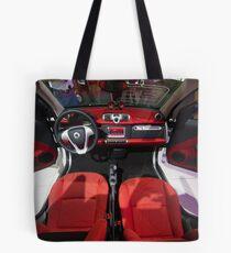 Smart ForTwo Turbo Cabrio Tritop Inside [ Print & iPad / iPod / iPhone Case ] Tote Bag