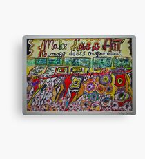 Views 1366. Make Love & Art ,  No more debts on your account. Amen!  by Andrzej Goszcz.  was featured in Diversuality – Queer and Gender. Buy what you like!  Canvas Print