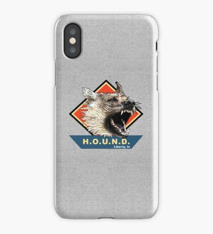 Project H.O.U.N.D. iPhone Case