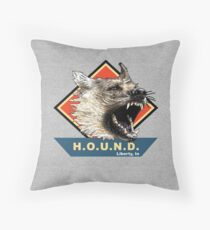 Project H.O.U.N.D. Throw Pillow