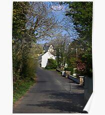 Irish country road Poster