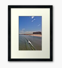 Glenelg Beach Framed Print