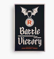 Team Rocket Poster Canvas Print