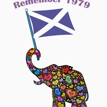 Vote Yes Scottish Independence Remember 1979 Tee by simpsonvisuals