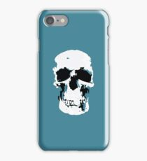 Sherlock Skull Wall Hanging iPhone Case/Skin