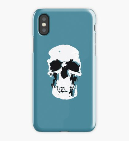 Sherlock Skull Wall Hanging iPhone Case