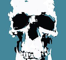 Sherlock Skull Wall Hanging by Mark Walker