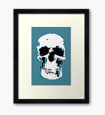 Sherlock Skull Wall Hanging Framed Print