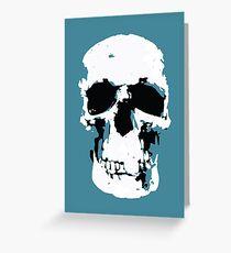 Sherlock Skull Wall Hanging Greeting Card