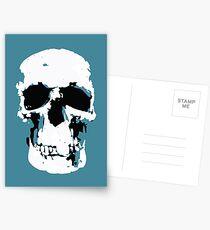 Sherlock Skull Wall Hanging Postcards