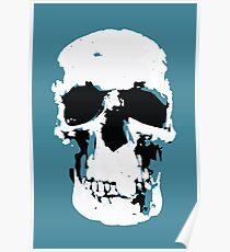 Sherlock-Schädel-Wandbehang Poster