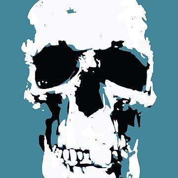 Sherlock Skull Wall Hanging by Markmaw