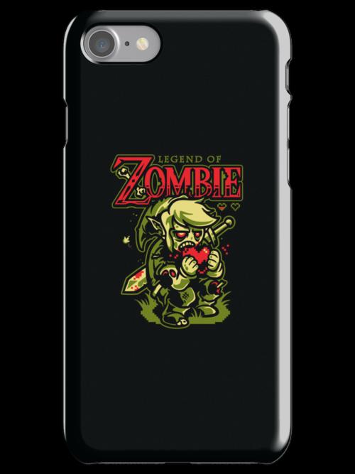Legend of Zombie - IPHONE CASE by WinterArtwork