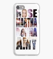 The Doctor's Girls iPhone Case/Skin