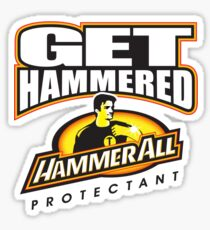 Hammerall ELE Protectant-White Sticker
