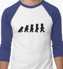 99 Steps of Progress - Minecraft Men's Baseball ¾ T-Shirt