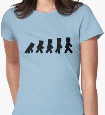 99 Steps of Progress - Minecraft Women's Fitted T-Shirt