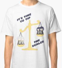 Derp Emblem: Tip the Scales Shirt Classic T-Shirt