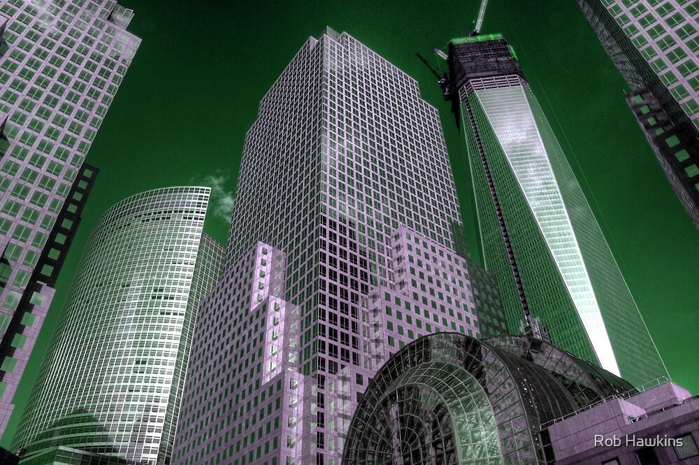 World Financial Centre 4 by Rob Hawkins