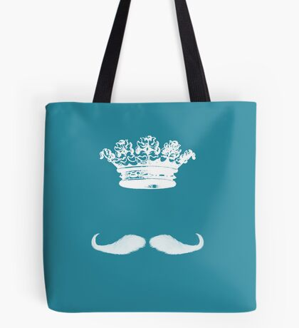 King Moustache I Tote Bag