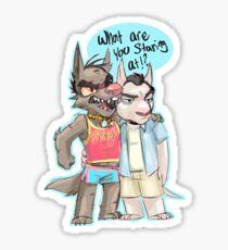 GTA pups Trikey Sticker