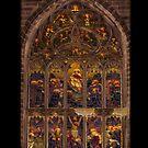 Stained glass windows at St Giles, Edinburgh by Jon Catt
