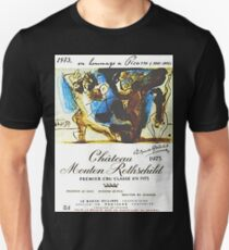 Chateau Mouton Rothschild Picasso Unisex T-Shirt