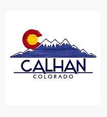 Calhan Colorado wood mountains Photographic Print