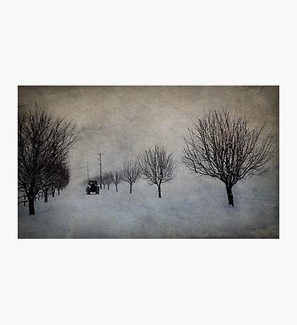 Winter's Work Photographic Print