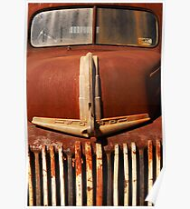 Old Truck at gold mining town #02 Poster