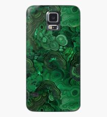 Malachit Hülle & Klebefolie für Samsung Galaxy