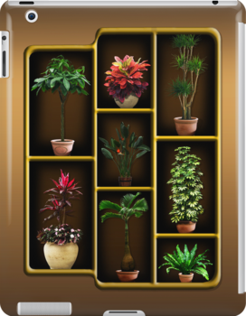Plant Cabinet Case by tapiona