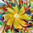 Colored Glass by searchlight