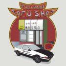Initial D- Fujiwara Tofu Shop by chewietoo