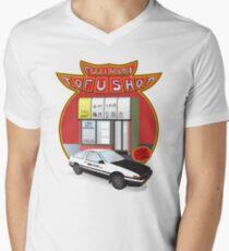 Initial D- Fujiwara Tofu Shop Men's V-Neck T-Shirt