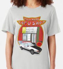Initial D- Fujiwara Tofu Shop Slim Fit T-Shirt