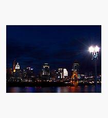 Cincinnati Skyline 3 Photographic Print
