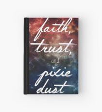 Glaube & Vertrauen & ein kleiner Pixie Staub Notizbuch