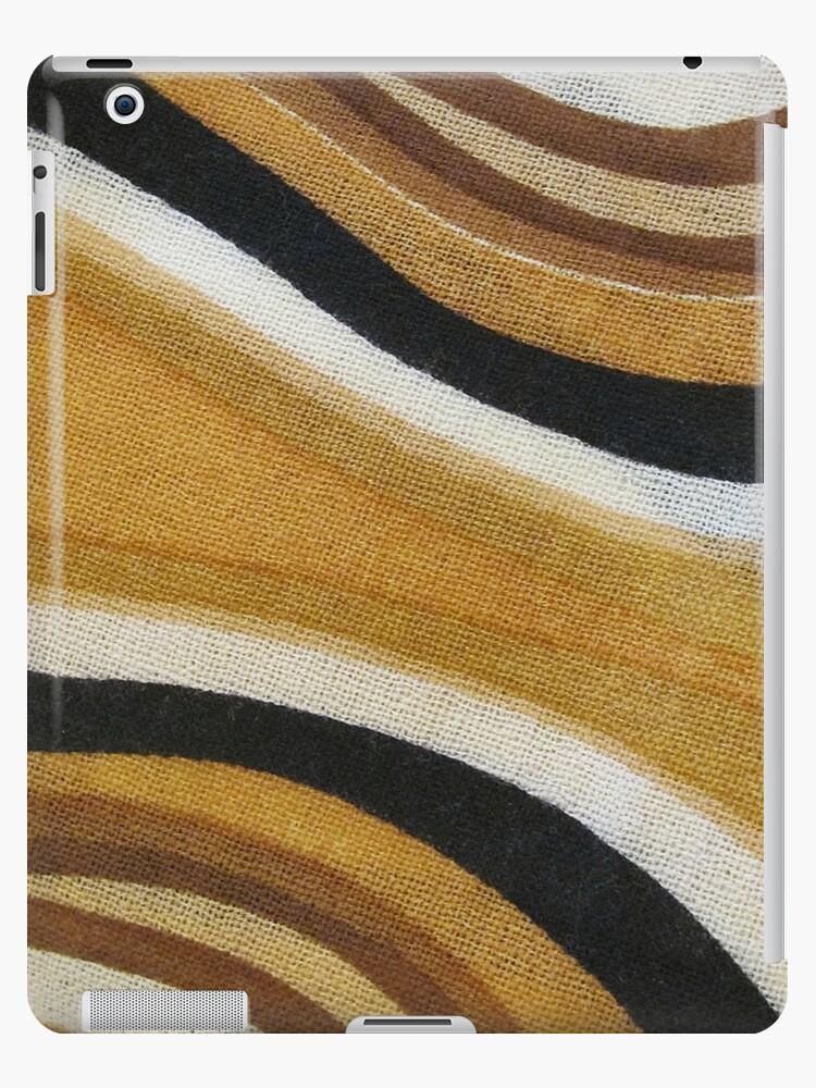 Wavy iPad Case by Monnie Ryan