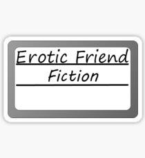 Erotische Freundesfiktion Sticker