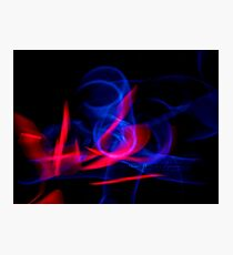 ©NLE Red Blue I Photographic Print