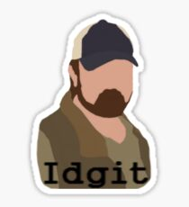 idgit! Sticker