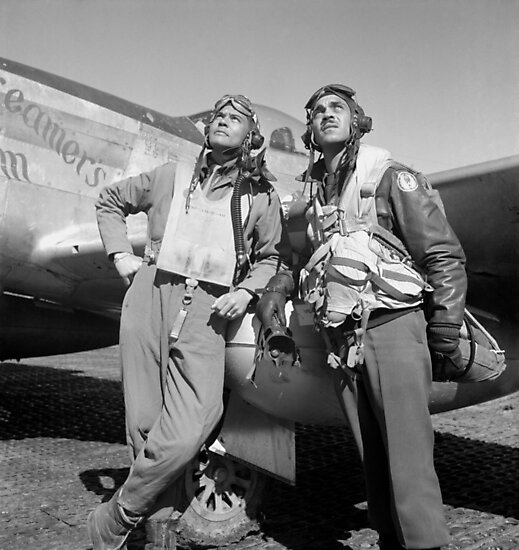 Tuskegee Airmen -- World War Two by warishellstore