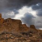 Chaco Canyon Storm by Kim Barton