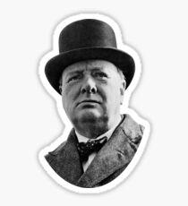 Sir Winston Churchill Sticker
